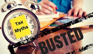 Tax Time Myths