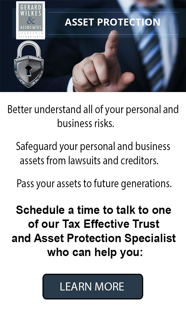 Gerard Wilkes Asset Protection