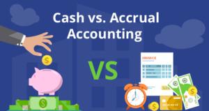 cash vs accrual